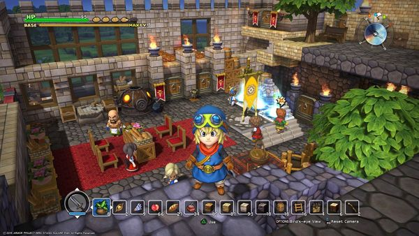 roof strategy dragon quest builders hands on preview raising the roof warp zoned